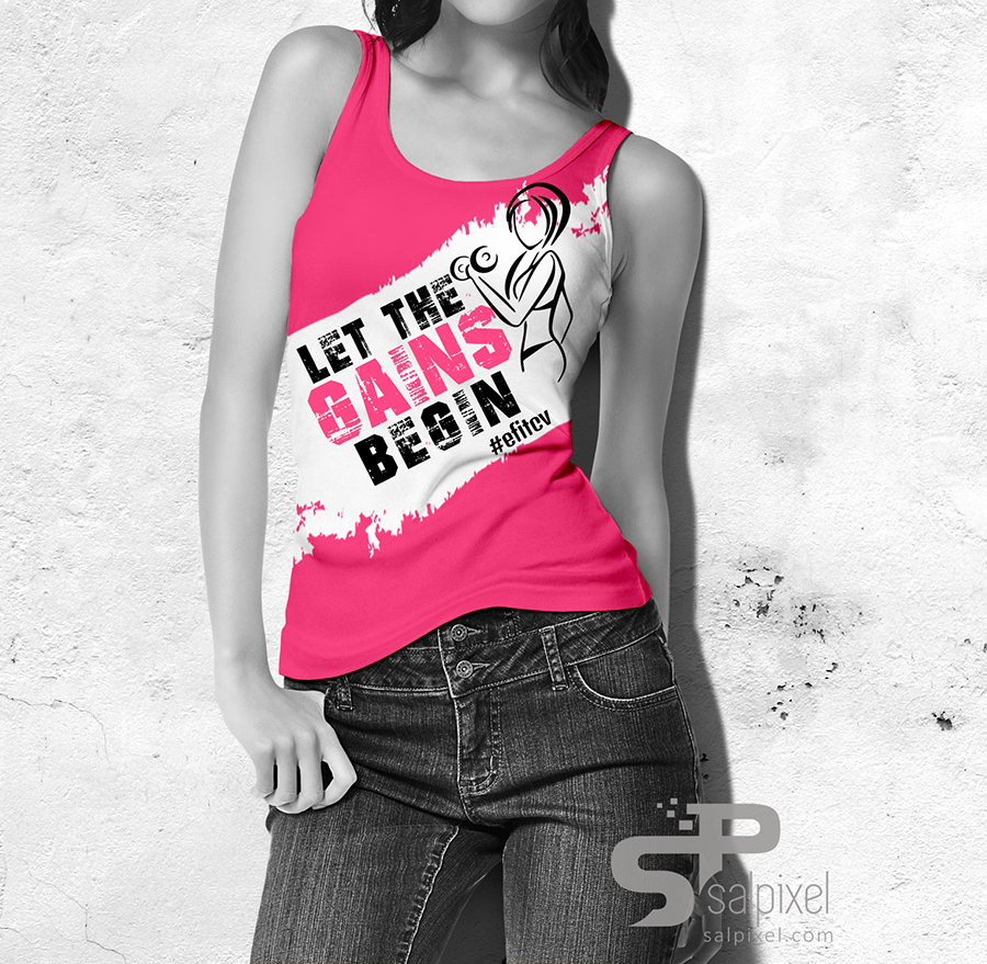 T-Shirt Fem - ACADEMIA EFIT